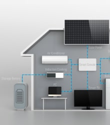 stockage energie solaire photovoltaique