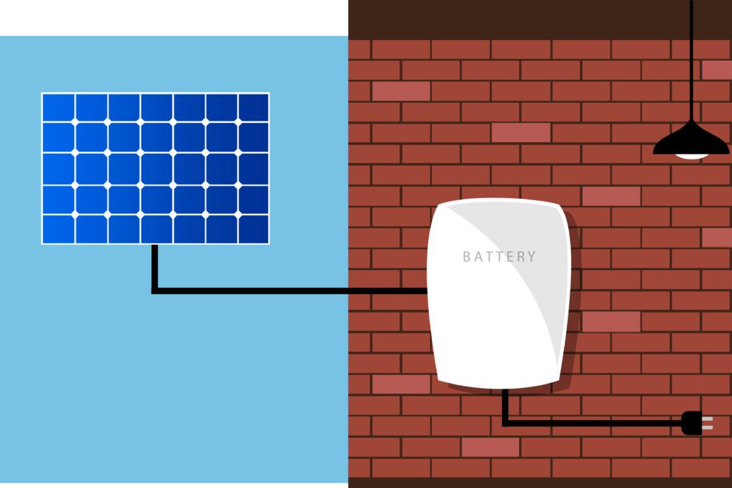 stockage energie solaire
